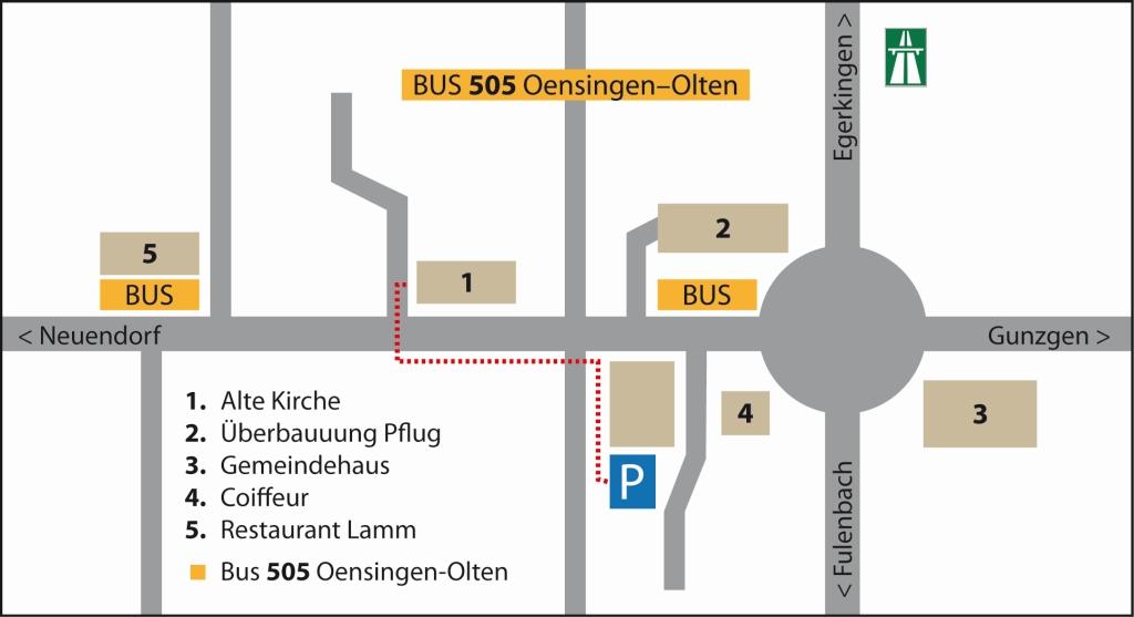 Plan Alte Kirche Härkingen