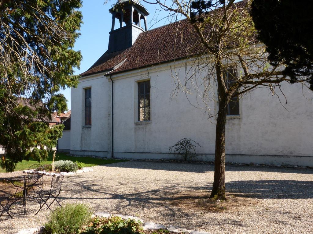 Aussenbereich Alte Kirche Härkingen