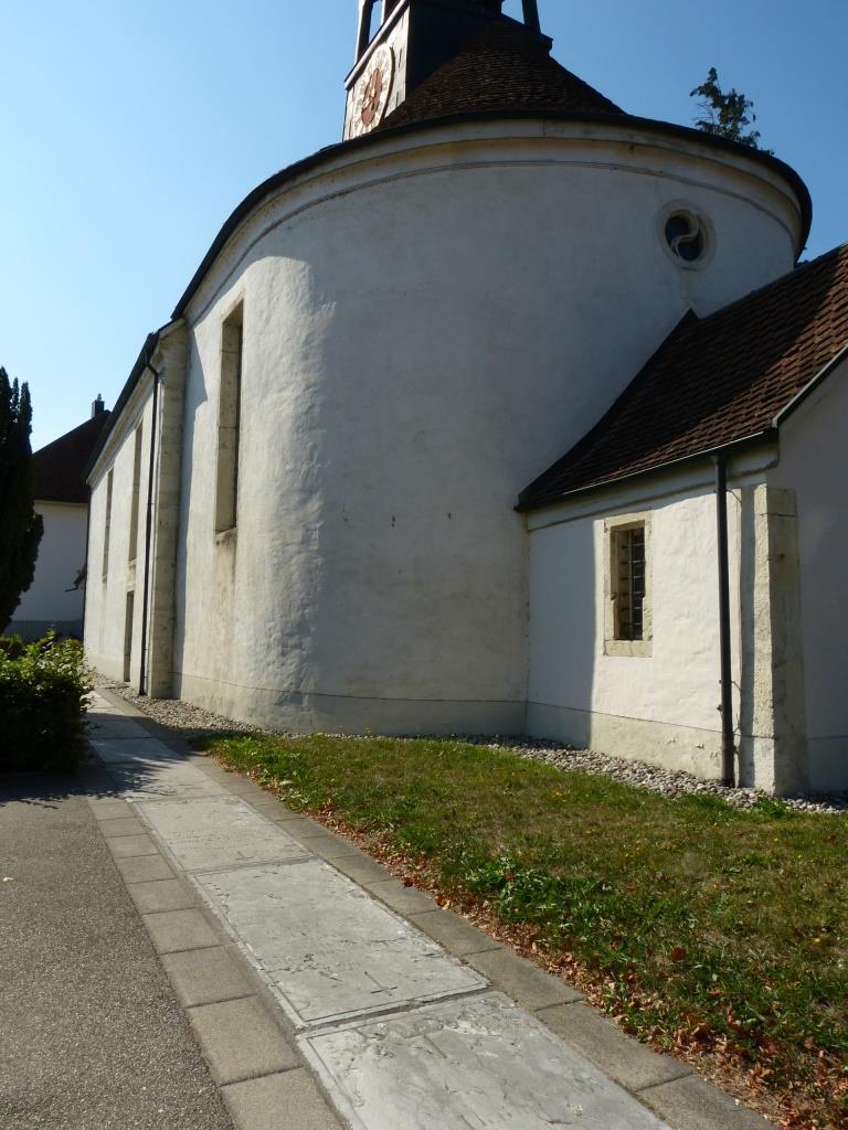 Alte Kirche Zugangsweg